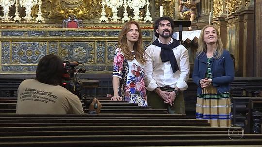 Apresentadora Angélica grava quatro programas especiais em Minas Gerais