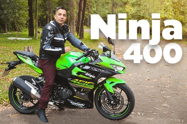 Kawasaki Ninja 400 (Foto: Marcos Camargo)