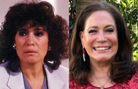 Susana Vieira viveu Gilda, mulher amargurada, casada com Severo (Francisco Cuoco). Este ano, a atriz fez 'Éramos seis' Globo e reprodução