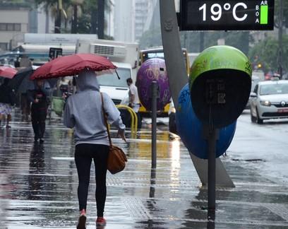 São Paulo e Rio de Janeiro têm risco de alagamentos e deslizamentos no final de semana