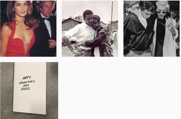 O feed de Kanye West no Instagram (Foto: Reprodução Instagram)