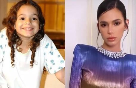Bruna Marquezine esteou na TV no 'Gente inocente' (2000) e estourou como Salete em 'Mulheres apaixonadas', aos 7 anos. Desde então, teve vários papéis. Em breve, estreará em 'Maldivas', da Netflix Reprodução