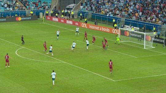 Após crítica de Messi, Arena do Grêmio explica condição ruim do gramado na Copa América