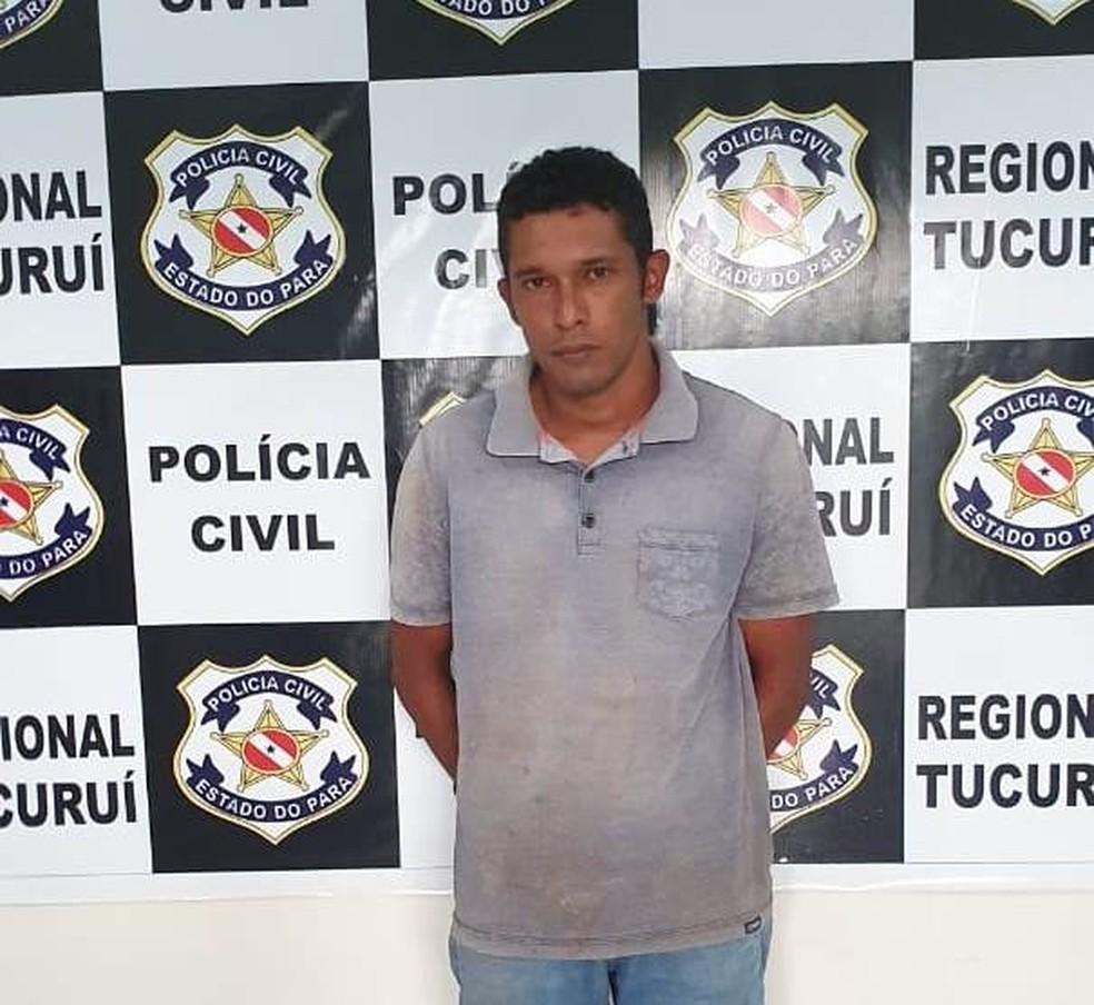 Homem confessa participação em série de assassinatos em Baião no Pará. — Foto: Polícia Civil / PA