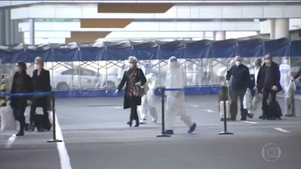 Especialistas da OMS chegam à China para investigar origem da pandemia