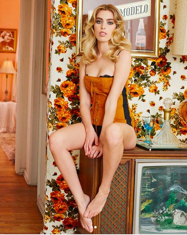 A atriz e modelo Clara McGregor, filha do ator Ewan McGregor (Foto: Instagram)
