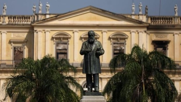 Museu Nacional foi fundado em 6 de agosto de 1818 por Dom João 6º (Foto: REUTERS/Via BBC News Brasil)