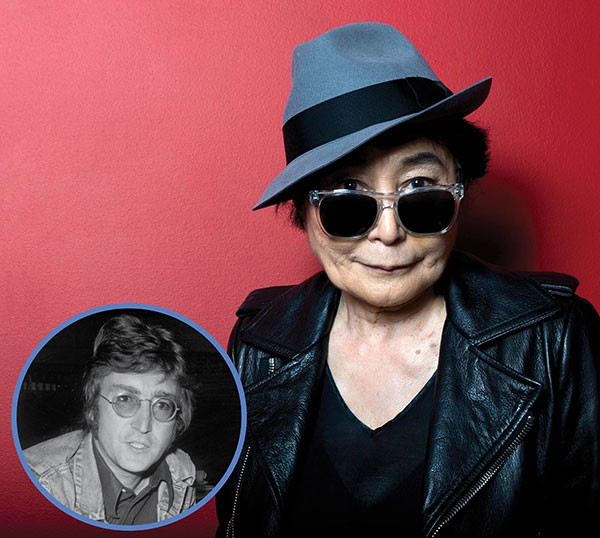 Yoko Ono e John Lennon (Foto: Getty Images)