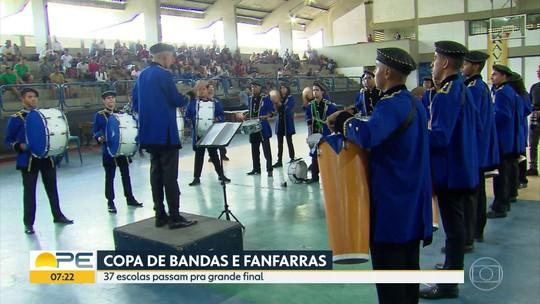 Bandas e fanfarras: confira as finalistas da Copa Pernambucana