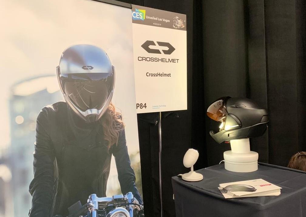 CrossHelmet X-1 — Foto: Thiago Lavado/G1