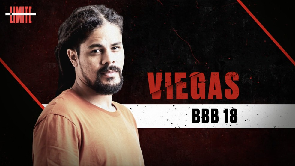 Viegas é um dos participantes do 'No Limite' ? Foto: Globo