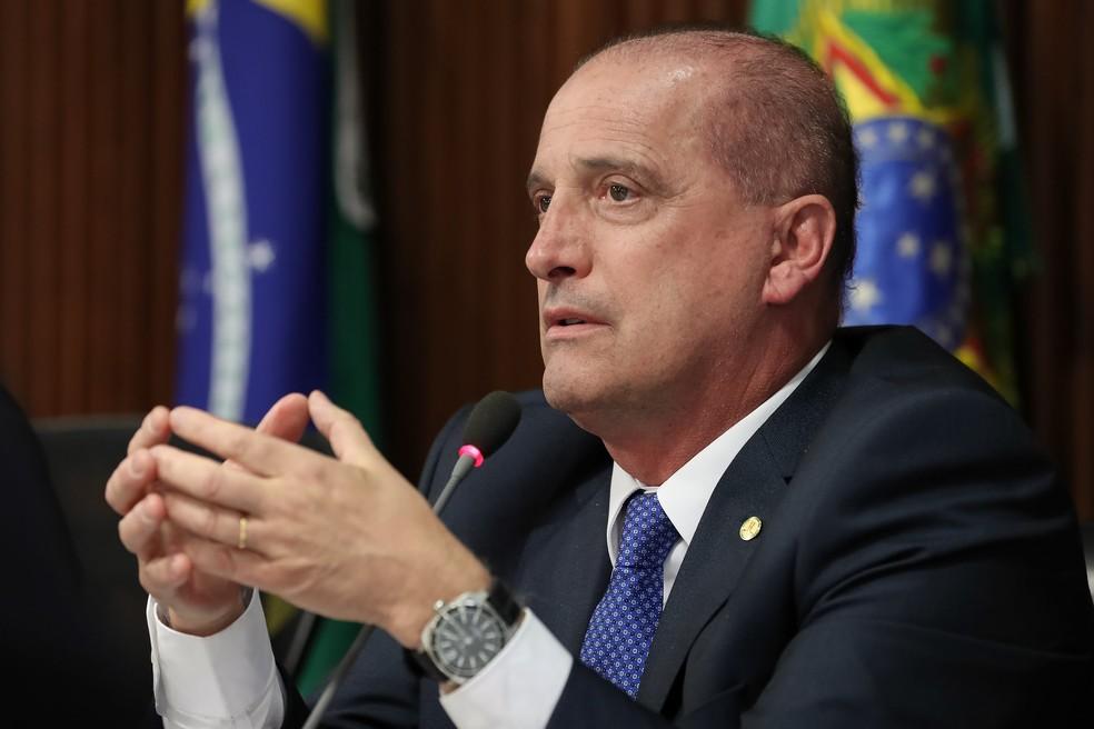 O ministro da Casa Civil, Onyx Lorenzoni — Foto: Marcos Corrêa/Presidência da República