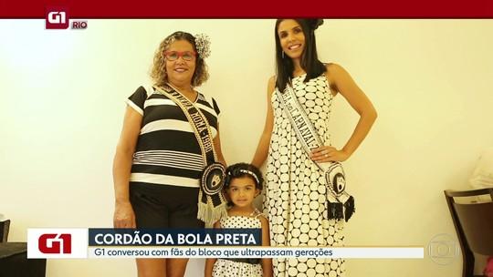G1 no Bom Dia Rio: Amor ao Cordão do Bola Preta ultrapassa gerações