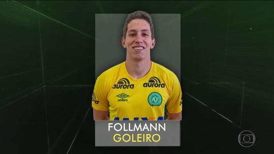 'Vou sair dessa rápido', diz Follmann em áudio para familiares e amigos