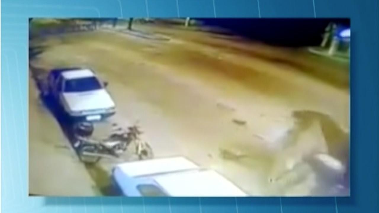 Homem fica ferido em acidente no viaduto do Mergulhão em Valadares