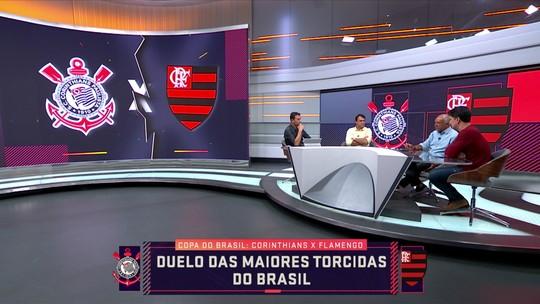 """André Rizek vê Flamengo """"muito favorito"""" no jogo contra o Corinthians, pela Copa do Brasil"""