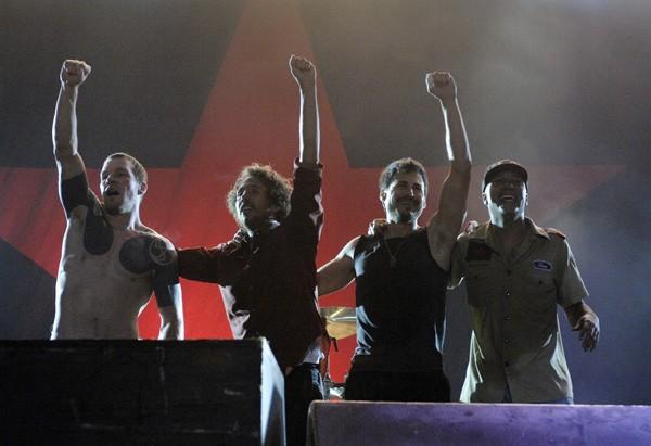 Os músicos do Rage Against the Machine (Foto: Divulgação)
