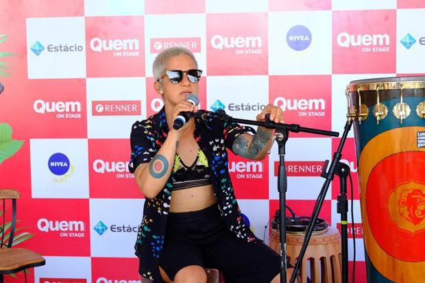 Lan Lanh se apresenta no QUEM On Stage (Foto: Renato Wrobel)