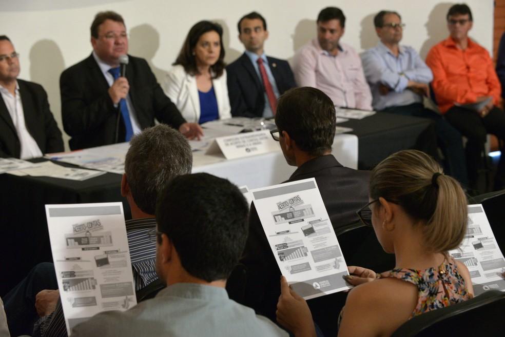 Comissão realizou audiências e visitas na Capital e no interior para ouvir e sensibilizar lideranças — Foto: Willian Dias/ALMG