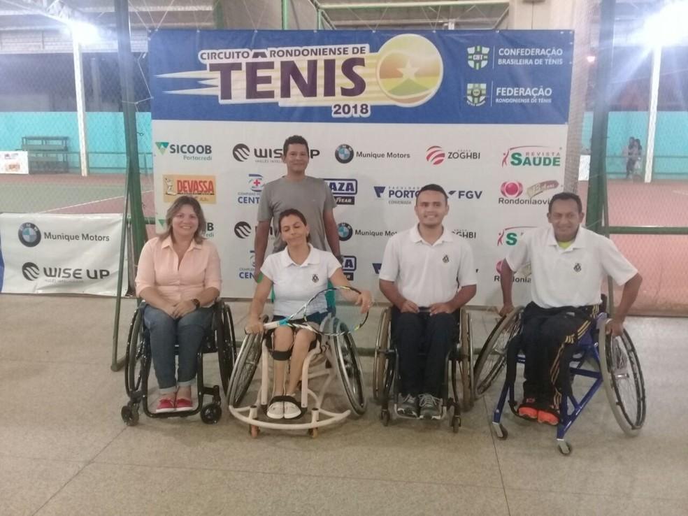 Cadeirante de Rondônia (Foto: Rosangela Gomes / Arquivo pessoal)