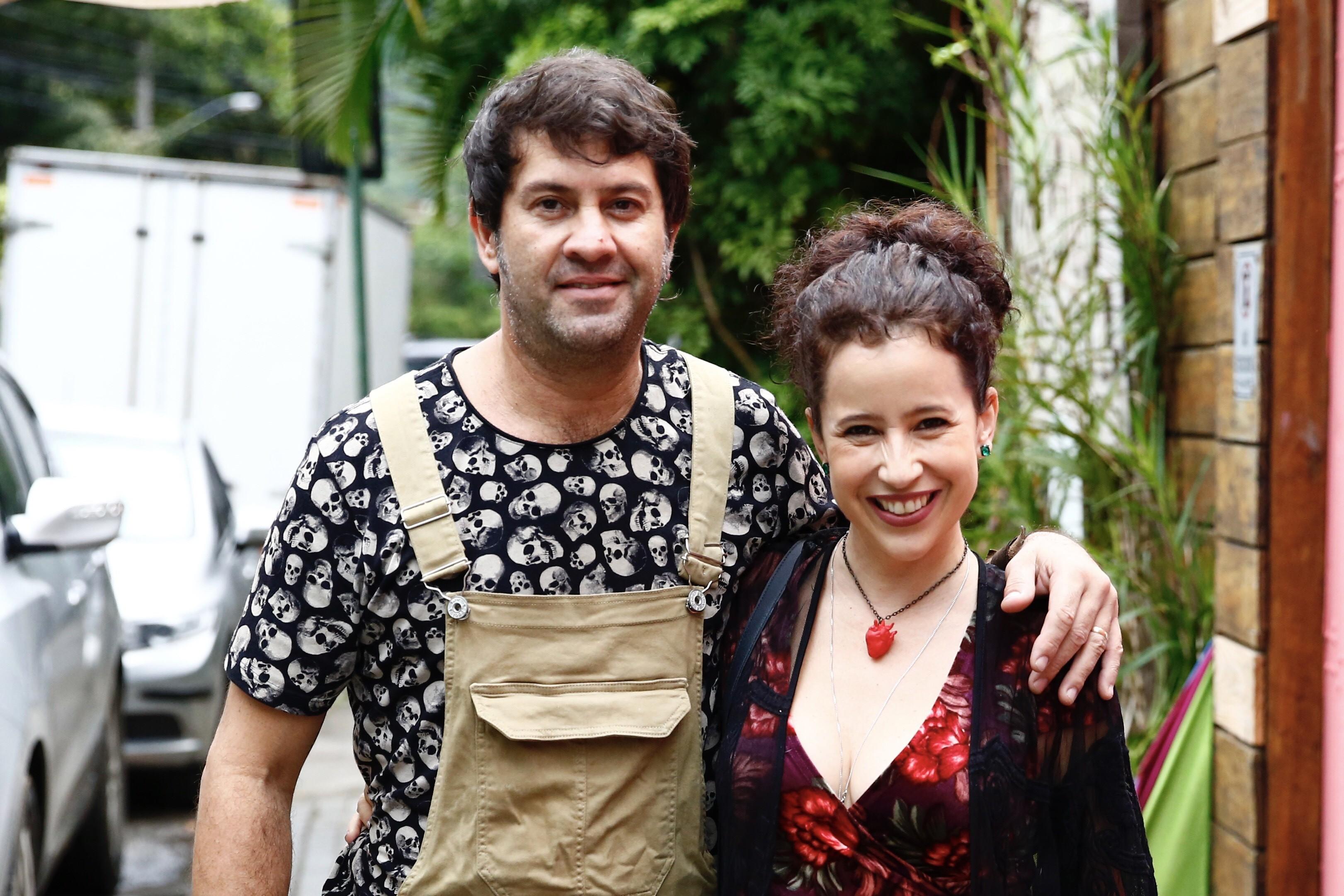 Maureen Miranda e Neco Yaros (Foto: Roberto Filho/BrazilNews)