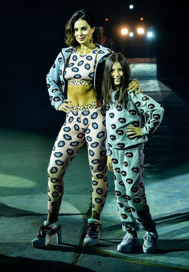 Vera Viel e a filha Maria (Foto: Leo Franco/AgNews)
