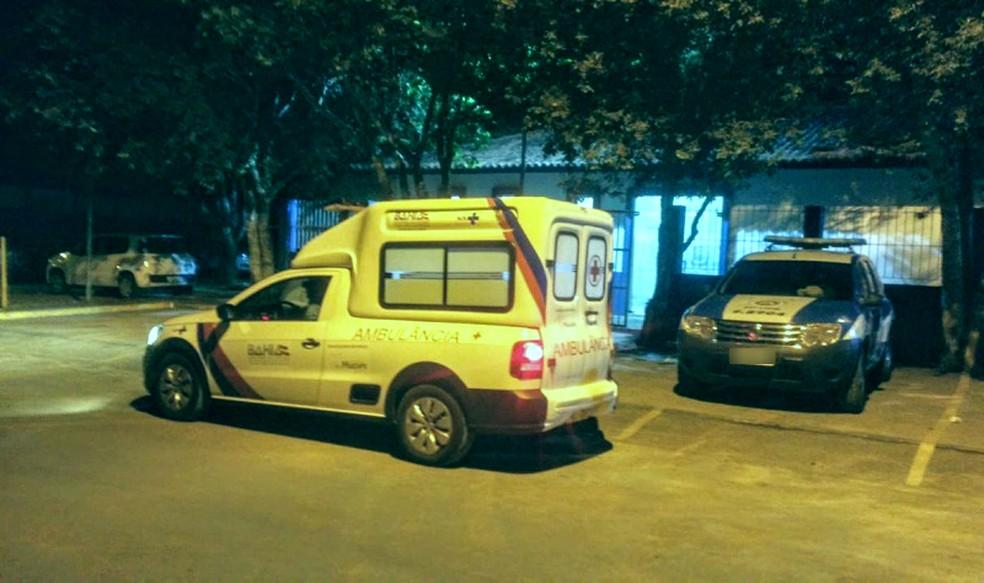 Suspeito foi preso em flagrante e segue detido na delegacia de Teixeira de Freitas — Foto: Clóves Neto/ Liberdade News