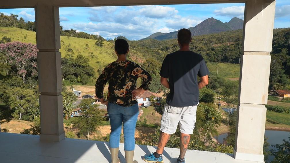 Casal se mudou para o interior — Foto: Globo Repórter