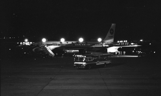 Sequestro do boeing 707, da Varig, vôo de Buenos Aires com destino a Santiago do Chile, teve sua rota desviada para Havana e depois retornou ao Galeão