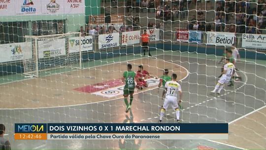 Marechal vence o Dois Vizinhos jogando fora de casa pela Chave Ouro do Paranaense