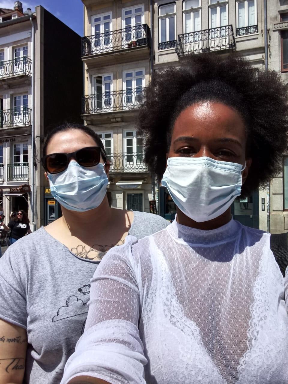 'Rotina estressante', relatam brasileiras que lutaram contra o coronavírus por mais de 50 dias em Portugal
