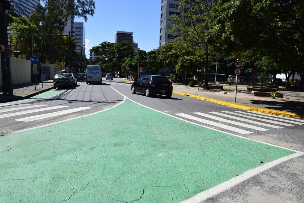 No bairro da Ilha do Leite, Centro do Recife, ruas têm mudança de circulação — Foto: Inaldo Lins/Prefeitura do Recife/Divulgação