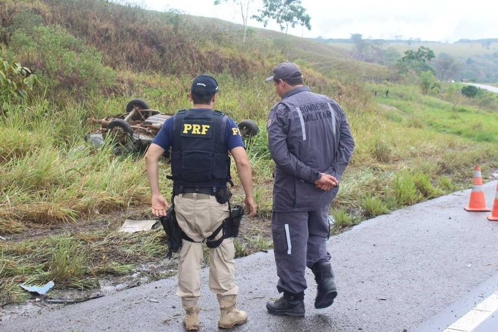 Acidente aconteceu na BR-101, na região sul da Bahia â?? Foto: Radar64
