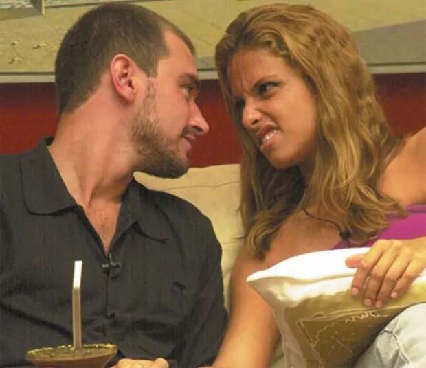 Thyrso e Manuela: BBB 2 (Foto: Reprodução )