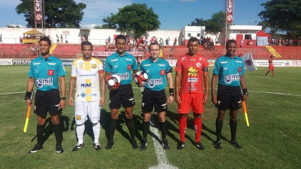 Fora de casa, Betinense levou a melhor  (Foto: Federação Mineira de Futebol/Divulgação)