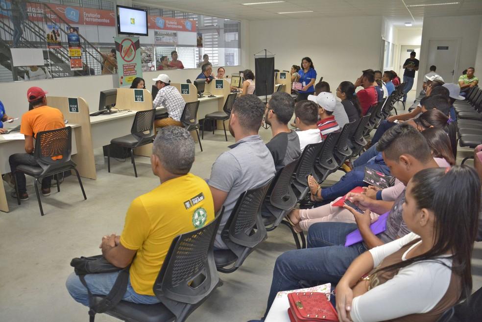 Sine Manaus seleciona candidatos para 38 vagas de emprego  — Foto: Márcio James / Semcom