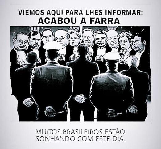 Ilustração publicada pela ex-mulher do presidente Jair Bolsonaro Rogeria Bolsonaro em redes sociais