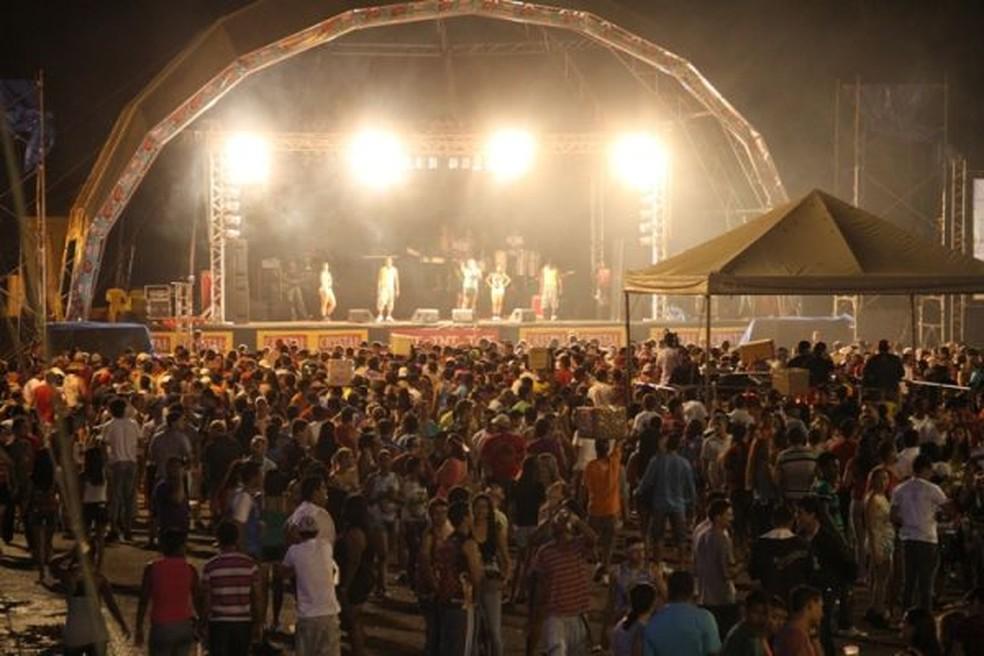 Festa popular reúne milhares de pessoas todos os anos (Foto: Prefeitura de Rondonópolis-MT/ Divulgação)