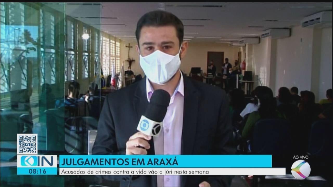 Acusados de crimes contra a vida vão a júri em Araxá
