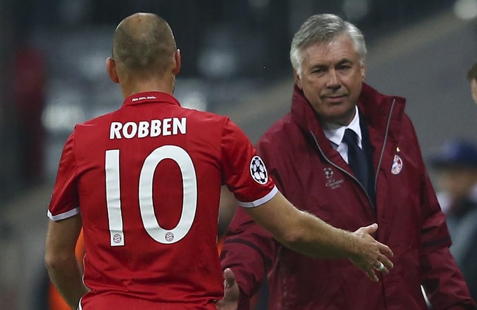Robben teria dito que treinava menos que seu filho de nove anos (Foto: Reuters)