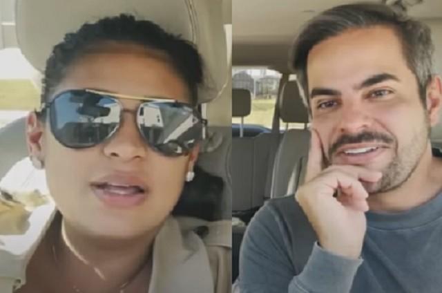 Simone e o marido, Kaká Diniz (Foto: Reprodução)