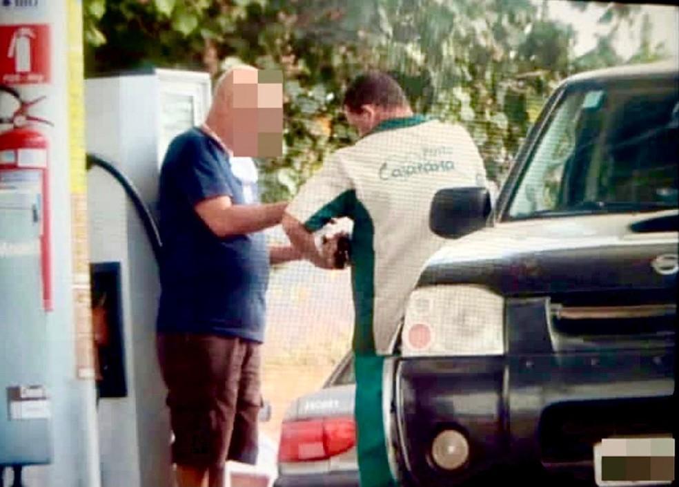 MP investiga venda de votos através de abastecimento de carros em cidade do RN — Foto: MP/Divulgação