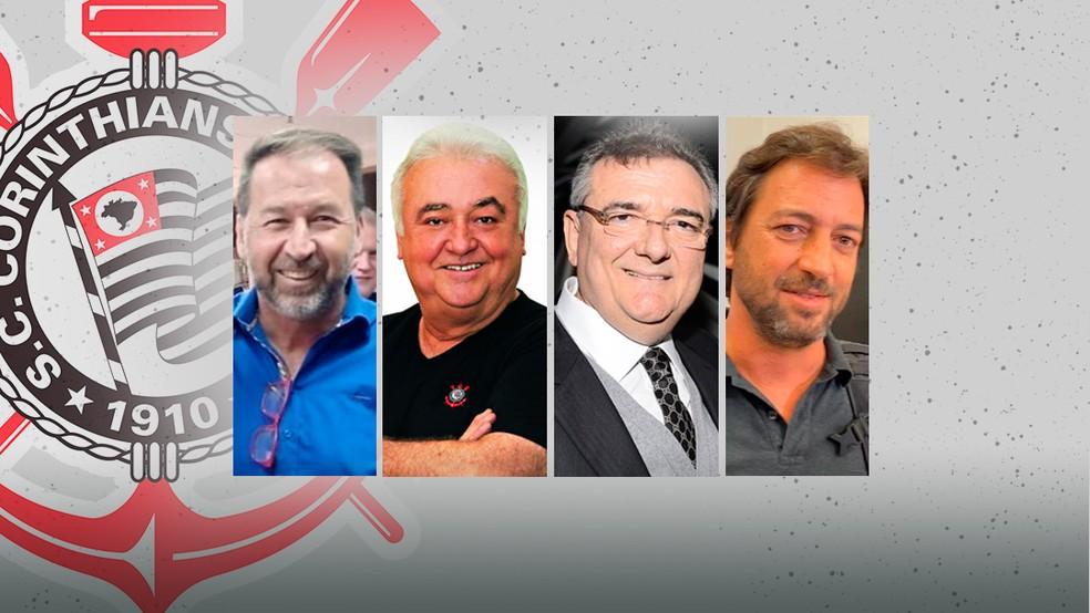 Eleições no Timão: Corinthians cria comissão e inicia corrida eleitoral; veja os candidatos à presidência