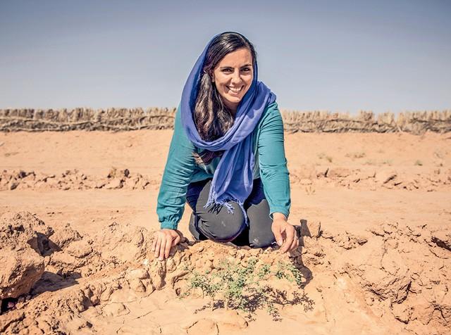 Sarah Toumi quer levar o Acacias for All e a discussão sobre a importância da agroecologia mundo afora (Foto: Rolex/ Reto Albertalli)