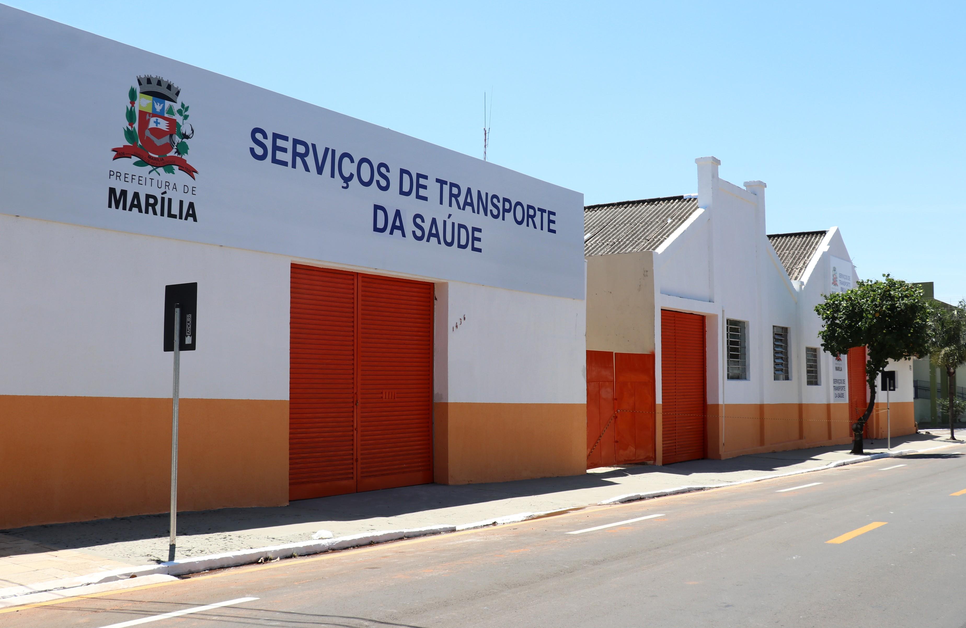 Marília conta com nova estrutura para serviços de transporte na área da Saúde - Noticias