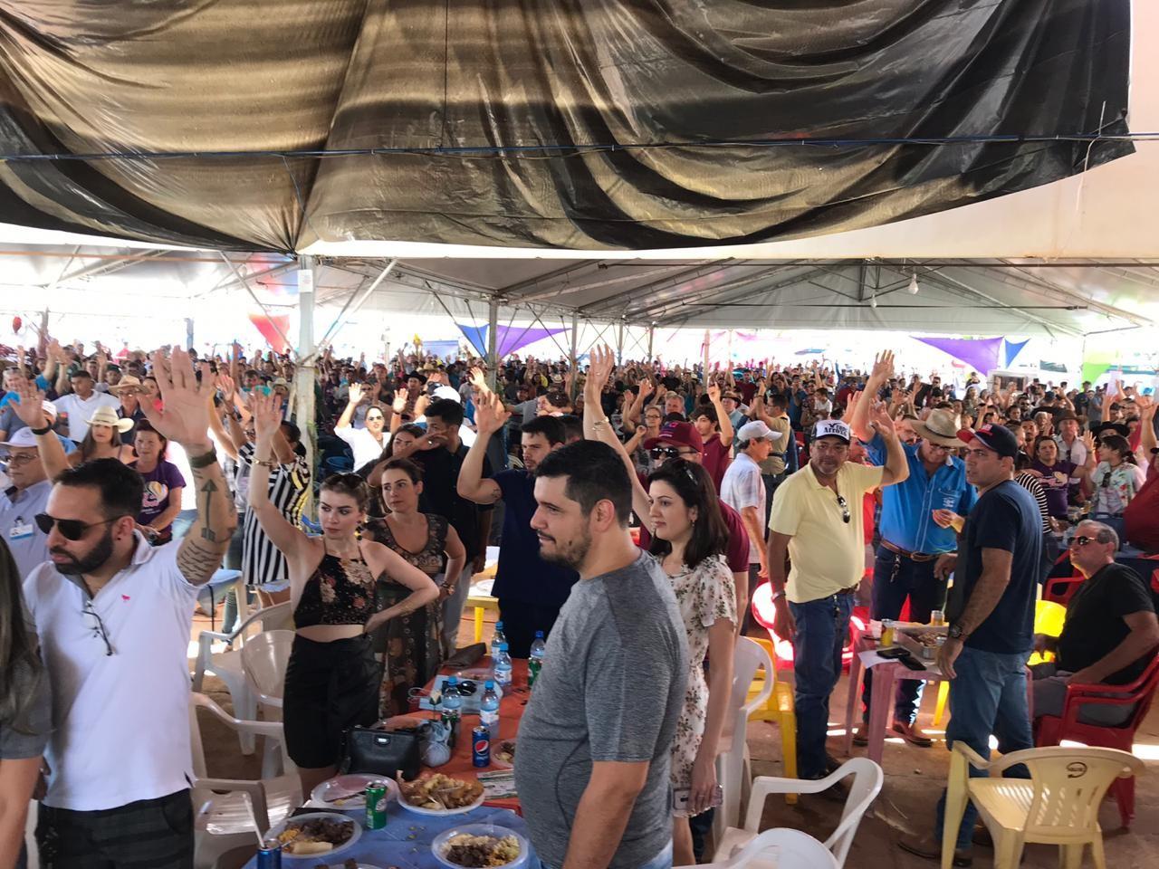 Em Rolim de Moura, RO, mais de R$ 600 mil são arrecadados em leilão solidário  - Notícias - Plantão Diário