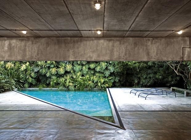 Com arquitetura modernista, a Casa Gerassi foi projetada por Paulo Mendes da Rocha em 2006 (Foto: Leonardo Finotti Architectural P)