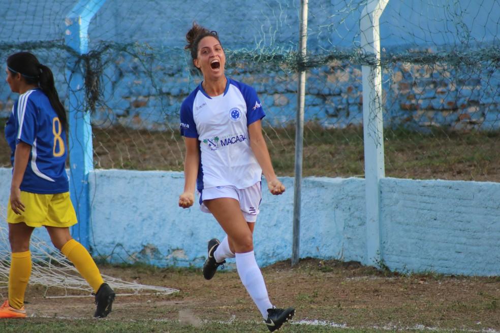 Cruzeiro de Macaíba fez 8 a 0 no Parnamirim — Foto: Júlia Medeiros/Cruzeiro de Macaíba