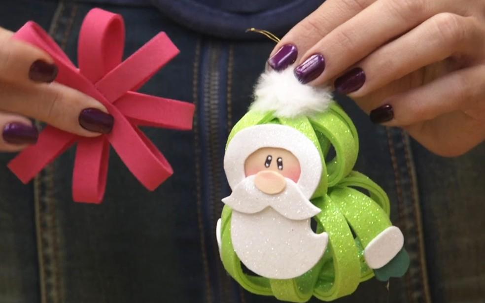Papai Noel De Eva Imprima Os Moldes E Faca O Seu Enfeite De Natal