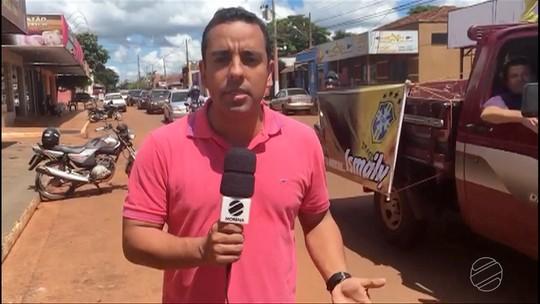 Moradores de Angelica-MS fazem carreata para comemorar a chegada de Ismaily à Seleção